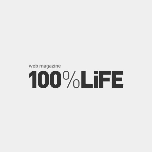 "cocoon featured in the Japanese web magazine ""100%LiFE"" thumbnail"